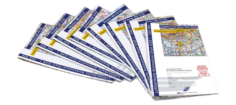 ICAO Karten 2018 - Motorflug