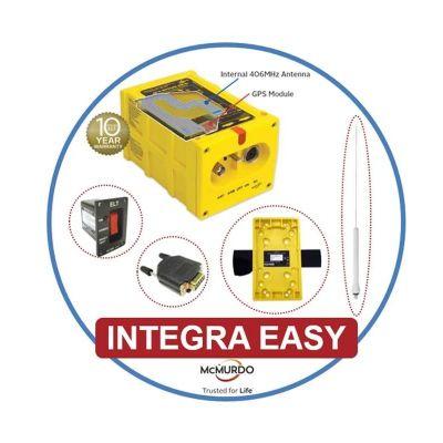 ELT Komplettpaket McMurdo Integra Easy inkl. Whip Außenantenne