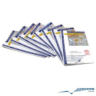 ICAO-Karten-Set Deutschland 1:500.000, Komplettsatz, 8 Blatt (Ausgabe 2018)