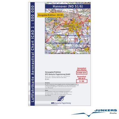 ICAO-Karte, Blatt Hannover (Ausgabe 2018), Motorflug 1:500.000