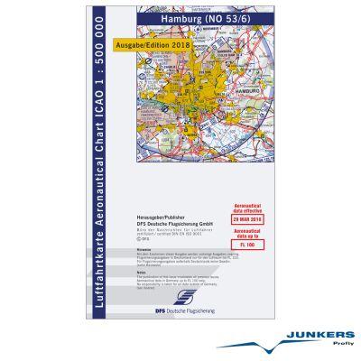 ICAO-Karte, Blatt Hamburg (Ausgabe 2018), Motorflug 1:500.000