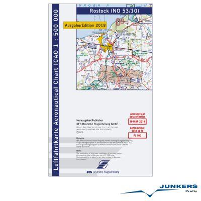 ICAO-Karte, Blatt Rostock (Ausgabe 2018), Motorflug 1:500.000