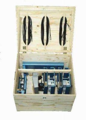 Transport und Lagerkiste für Wägeplattform 90 Kg und 500 kg aus Holz