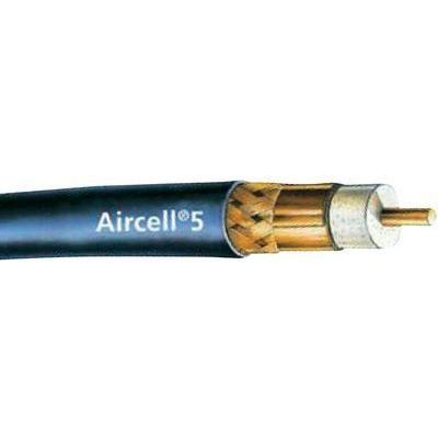 AIRCELL® 5 extrem dämpfungsarmes und störstrahlsichers RG58 Koaxialkabel