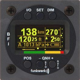 Funkwerk BFI57 - Basic Flight Instrument