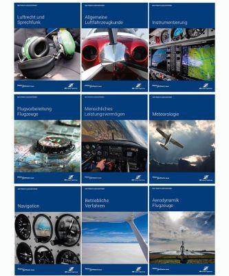 Der Privatflugzeugführer kompletter Satz - 9 Bände