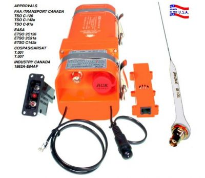 ELT ACK E-04 Notsender FAA, EASA, SARSAT zertifiziert