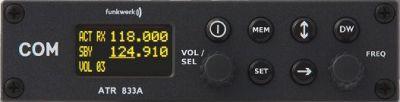 f.u.n.k.e. ATR 833A OLED VHF Flugfunkgerät