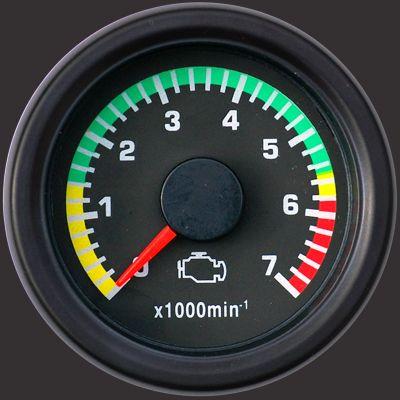 Road Rundinstrument Drehzahlmesser 52 mm bis 7000 rpm