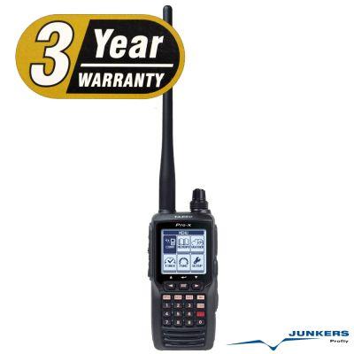 Yaesu FTA-550L Flugfunk Handfunkgerät 8.33 kHz VOR - ILS