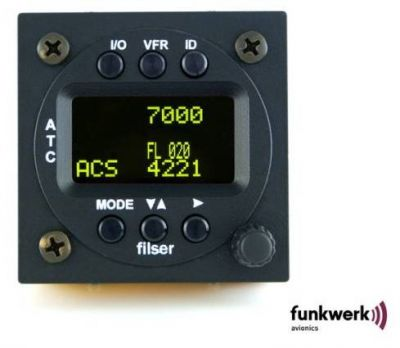 f.u.n.k.e. AVIONICS Transponder TRT 800H OLED, A/C/S