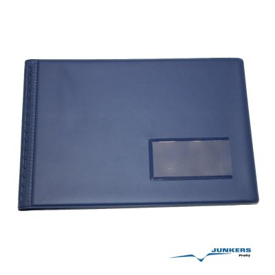 Flugbuchhülle Kunststoff DIN A6