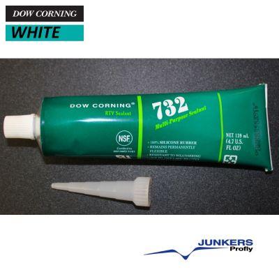 732 Dow Silastic RTV WHITE 4.7 Oz. - 139 ml Tube