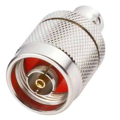 Adapter BNC-Buchse auf N-Stecker für 50 Ohm