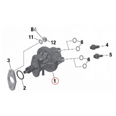Mechanische Kraftstoffpumpe Rotax komplett
