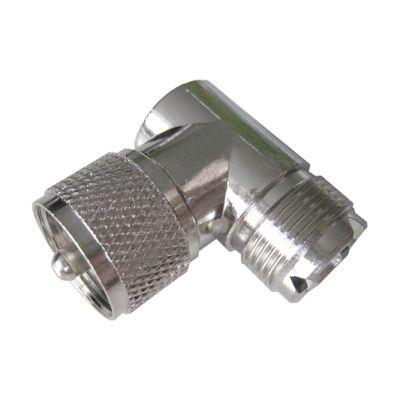 UHF Winkeladapter PL Stecker auf Buchse