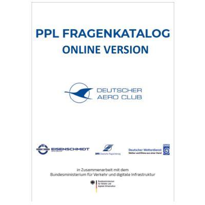 PPL Fragenkatalog - Online Aktivierungscode 12 Monate