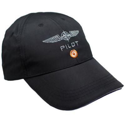 Pilot Cap Microfaser Schwarz