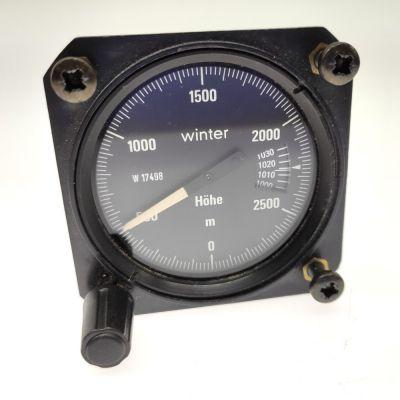 Winter Einzeiger UL Höhenmesser 3000m 8031