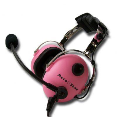 Kinder Piloten-Headset AeroStar -child- pink