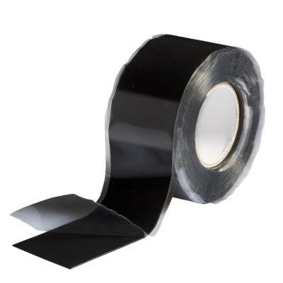 Silikonband selbstverschweißend Wasserdicht Luftdicht schwarz 3m x 25mm