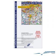 ICAO-Karte, Blatt Frankfurt (Ausgabe 2018), Motorflug 1:500.000
