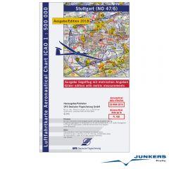 ICAO-Karte, Blatt Stuttgart (Ausgabe 2018), Segelflug 1:500.000