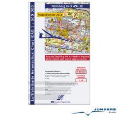 ICAO-Karte, Blatt Nürnberg (Ausgabe 2018), Segelflug 1:500.000
