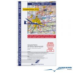 ICAO-Karte, Blatt München (Ausgabe 2018), Segelflug 1:500.000