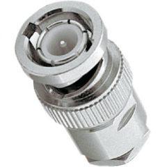 BNC Stecker zum Löten 50 Ohm für RG58 Kabel