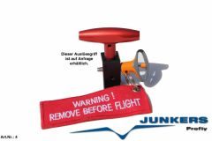 Junkers Magnum 250 Container Rettungssystem 300 Kg