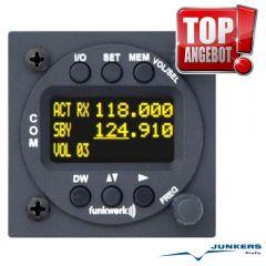 f.u.n.k.e. ATR 833-II OLED VHF Flugfunkgerät