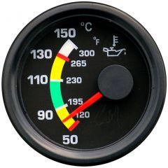Road Rundinstrument Temperaturanzeige 52 mm bis 150 °C