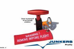 Junkers Magnum 250 Softpack UL Rettungssystem 300 kg