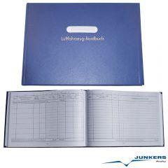 Luftfahrzeug Bordbuch Hardcover ca. 100 Seiten