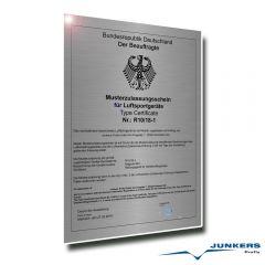 Junkers Magnum 601 Softpack UL Rettungssystem bis 760 Kg