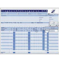 DFS Flugdurchführungsplan 50 Blatt - DIN A4