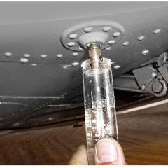 Aircraft Fuel Tester mit 6 Standard Bit-Einsätzen