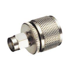HF-Adapter UHF-PL Stecker auf SMA Stecker