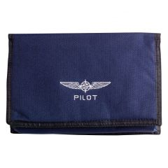 Design4Pilots Mini Piloten Dokumententasche - Blau