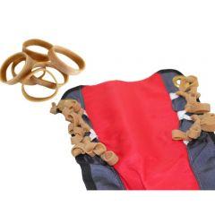 Packgummi für Rettungsfallschirme