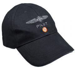 Pilot Cap Baumwolle Schwarz