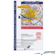 ICAO-Karte, Blatt Hamburg (Ausgabe 2018), Segelflug 1:500.000
