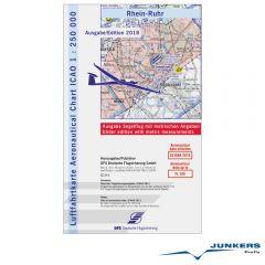 ICAO-Karte, Blatt Rhein-Ruhr (Ausgabe 2018), Segelflug 1:250.000