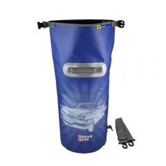 Wasserdichte Tasche Packsack Urban Safe 20 L Blau