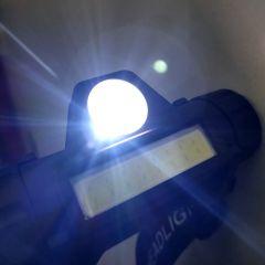 Kopflampe LED Scheinwerfer XPE + COB Magnetisch USB Aufladbar