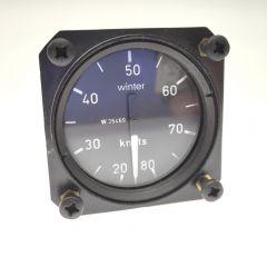 Winter UL Einbau Fahrtmesser EBF 8020 mit Venturi-Düse
